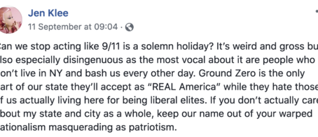 Reflections on 9/11 and all that