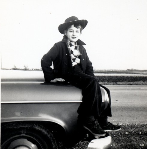 50s IL MC dressed as cowgirl