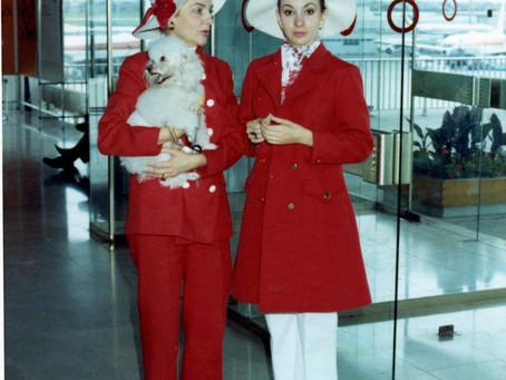 Glamorous air travel
