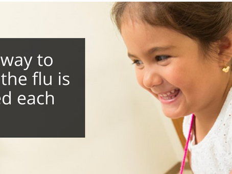 Science reporting on flu
