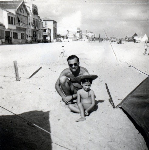 48 Palavas, Roger, MC beach camping