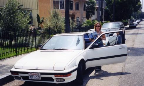 Sam Chardin Honda Prelude road trip Los Angeles 1999