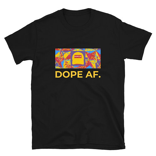 Old School Dope AF. Short-Sleeve Unisex T-Shirt