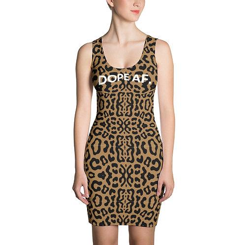 Cheetah Dope AF. Dress