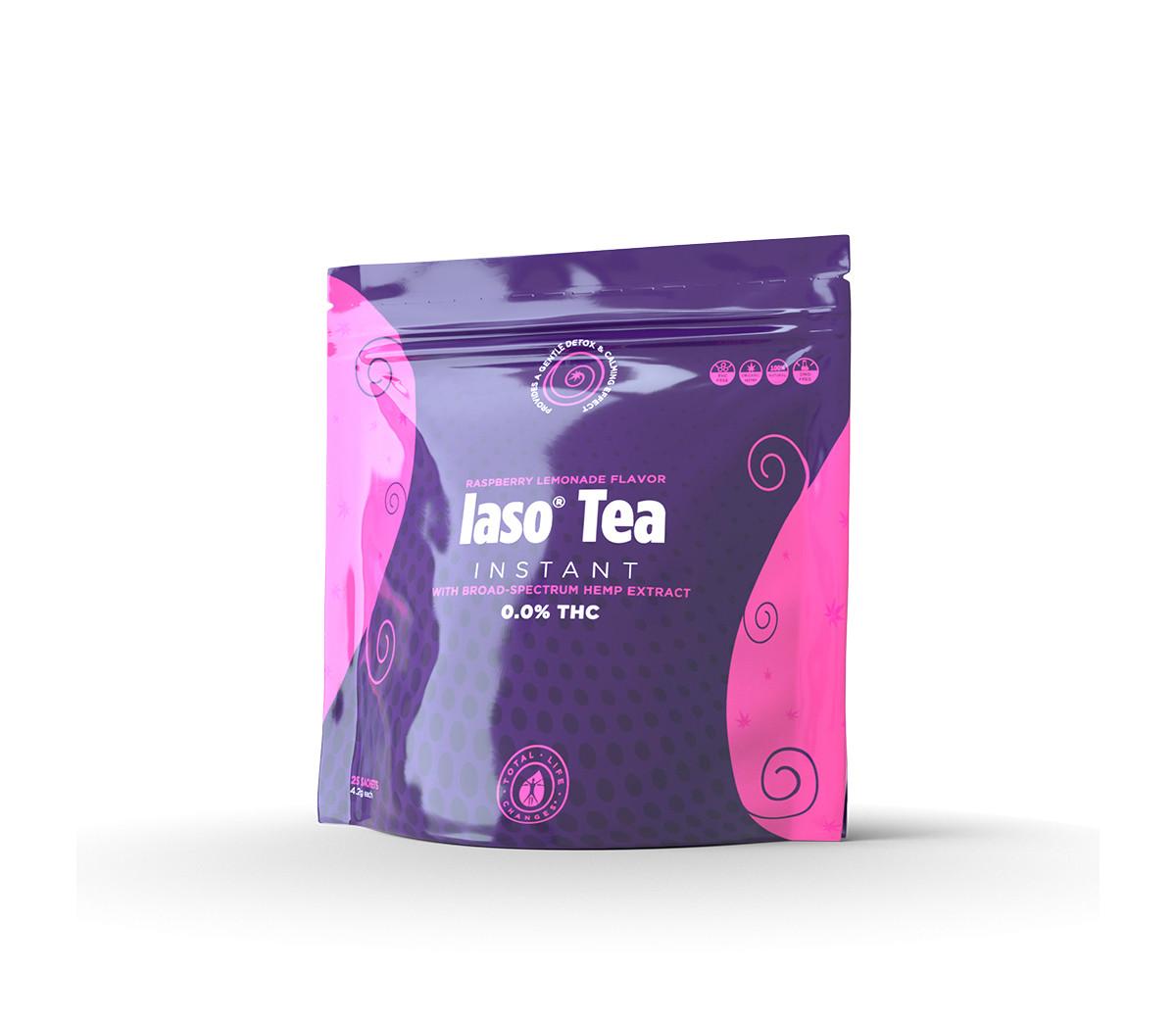 Iaso® Tea Instant with Broad-Spectrum Hemp Extract - 25 Sachets