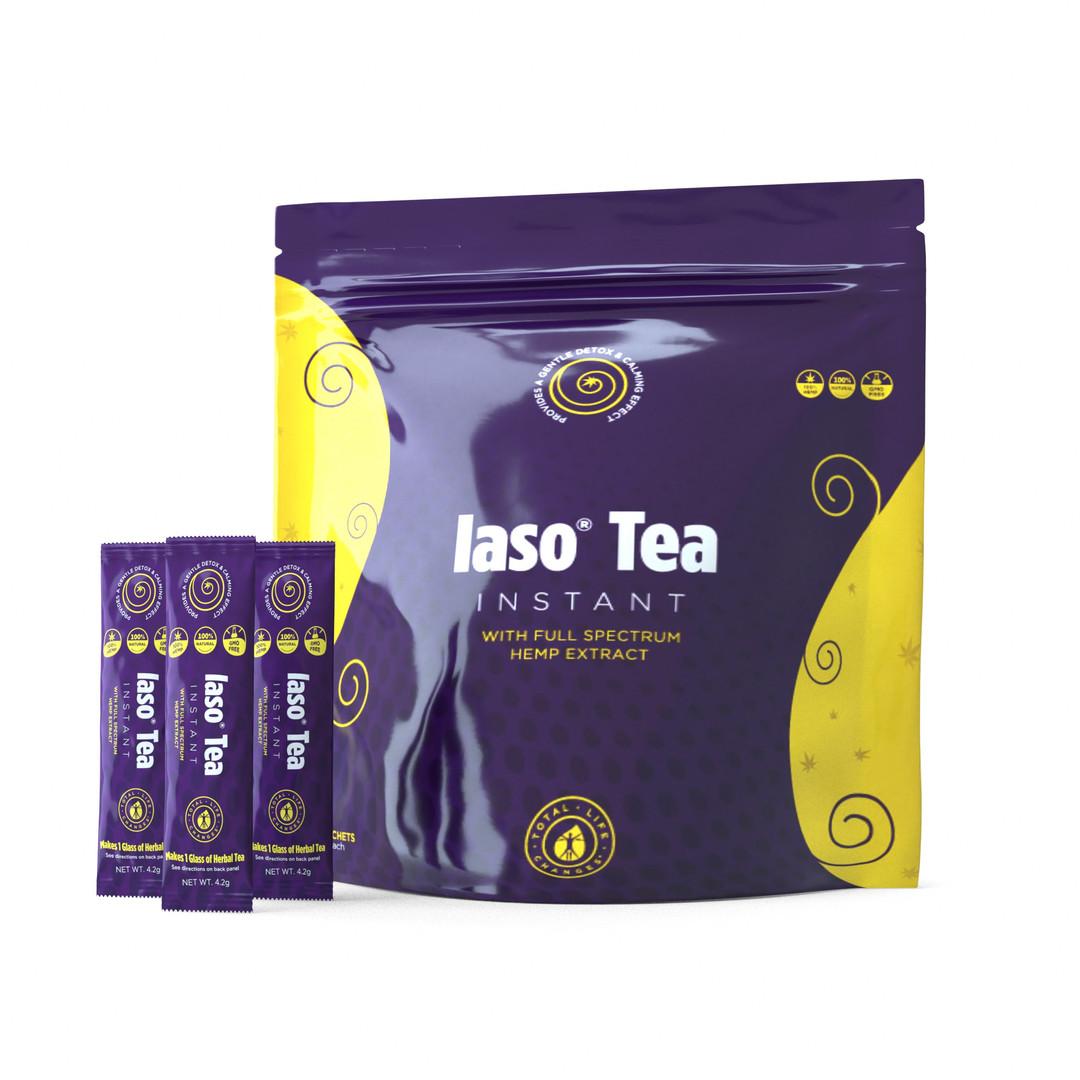 Iaso® Tea Instant with Hemp Extract - 25 Sachets