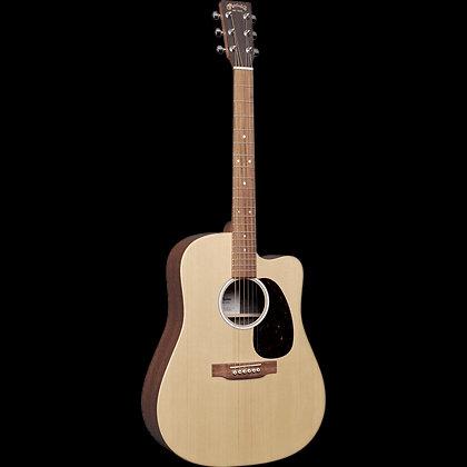 גיטרה אקוסטית מוגברת + נרתיק MARTIN DCX2E-01 Sit/Mah HPL