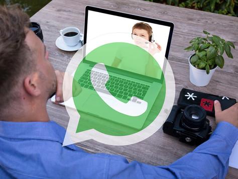 שיחות וידאו ואודיו - עכשיו גם בווטסאפ למחשב