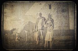 1912 Montfermeil la famille du meunier