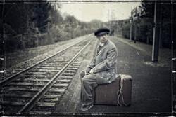 1953_Gare_de_Clichy_Montfermeil_mon_départ_en_Allemagne