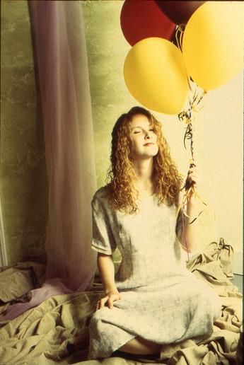 Girl With Ballons