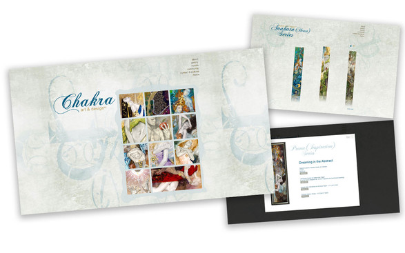 Chakra Art & Design Website