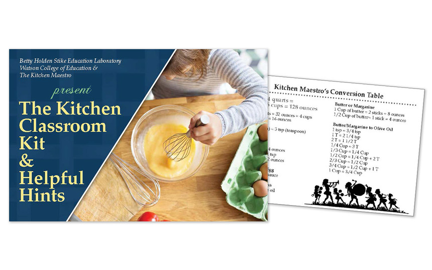 Kitchen Maestro Information Card