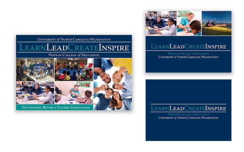 Learn Lead Create Inspire Postcards and Notecards