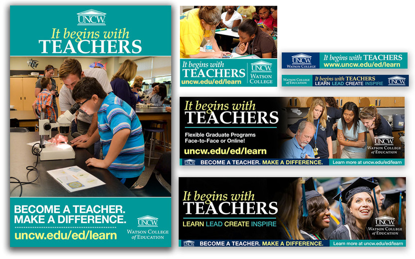 It Begins With Teachers Advertising