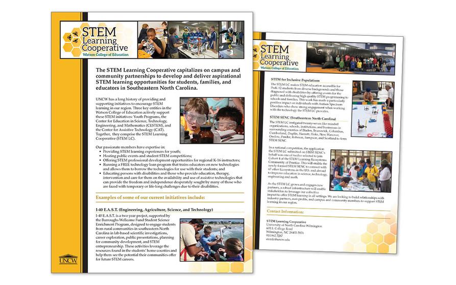 STEM LC One-sheet