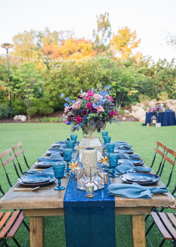 Kara & Nick's Los Robles Guest Wedding Table