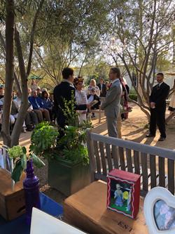 John & Estee's Arlington Garden Ceremony