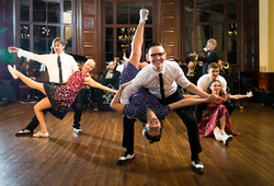 Swing Dancers - Ben & Kasia 2017