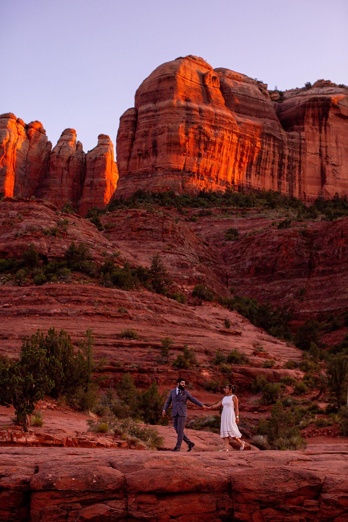 Sedona, Arizona Elopement Wedding
