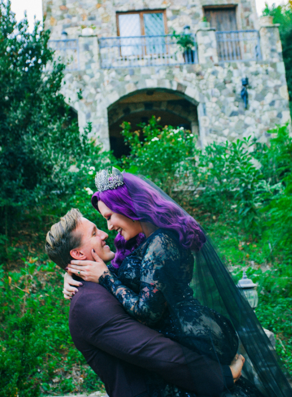 Autumn & Aaron's Lobo Castle Wedding - Halloween Inspired
