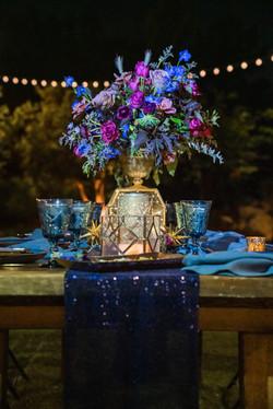 Kara & Nick's Los Robles Garden Night Guest Table