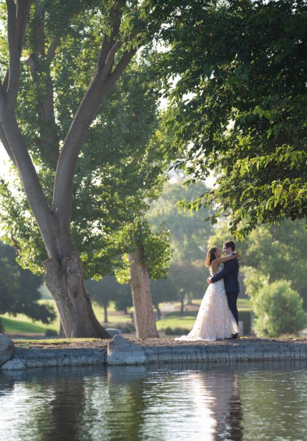 Kara & Nick's Los Robles lake First Look