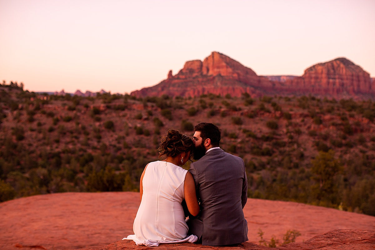 Katee & Andrew's Sedona, Arizona Elopement Vow Renewal