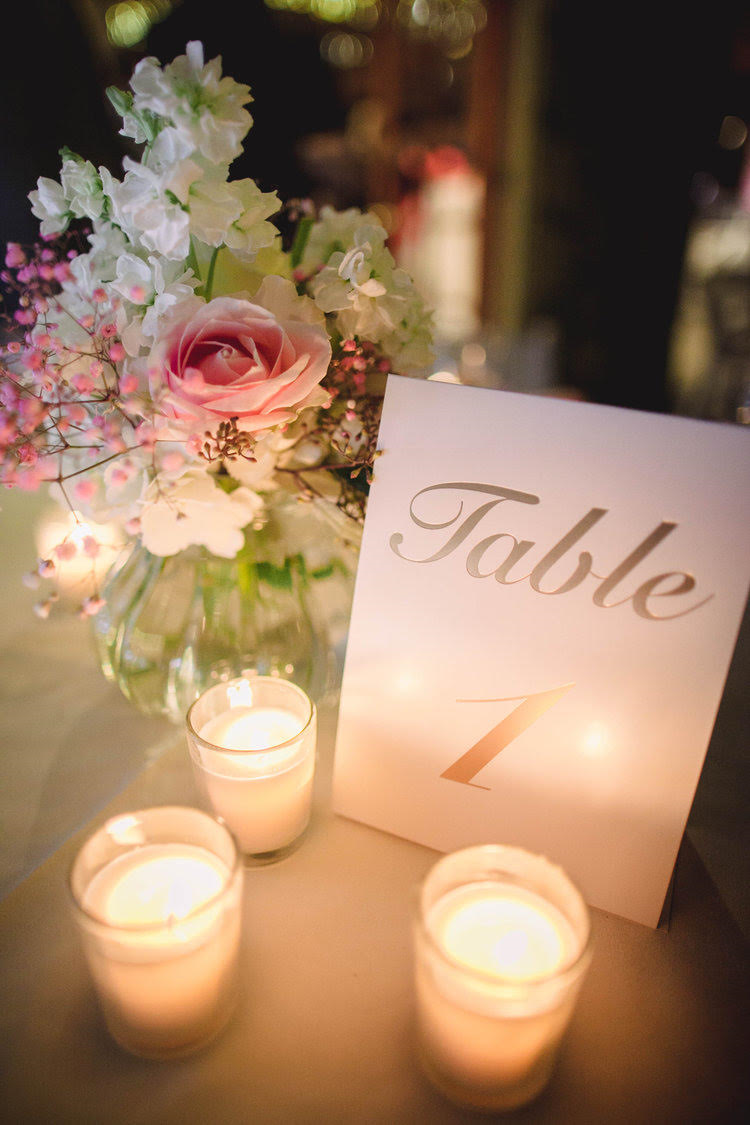 Kon & Bianca's Malibu Destination Small Wedding Table 1 Sign