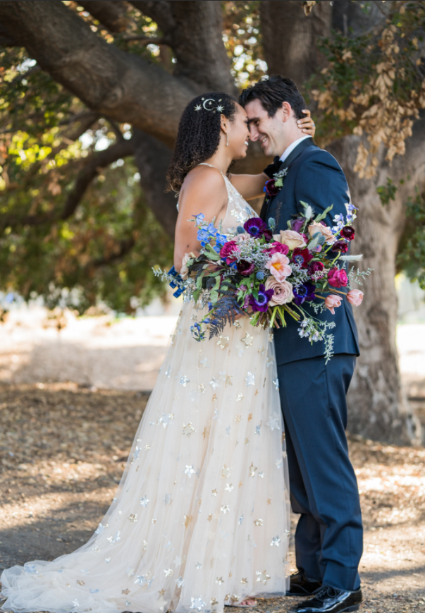 Kara & Nick's Los Robles First Look Kiss
