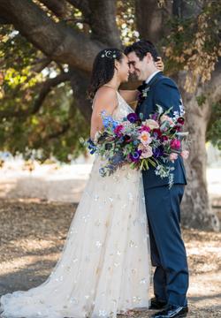 Kara & Nick's Los Robles First Look Kiss