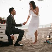 Arman & Arpitha's Proposal - Westward Beach