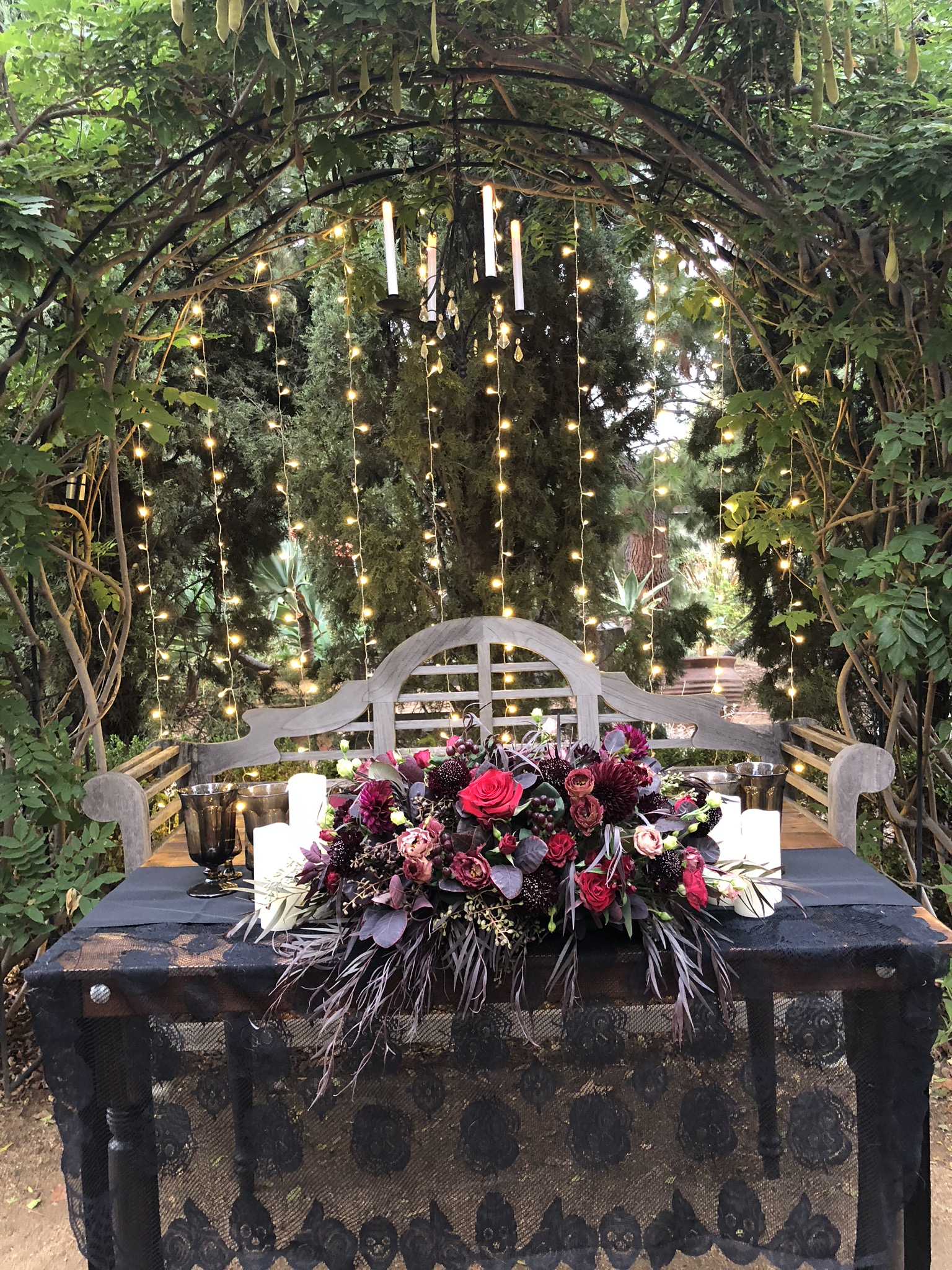 Sharon & Rocky's Sweetheart Table