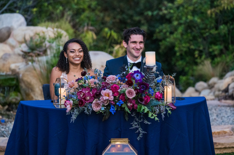 Kara & Nick's Los Robles Sweetheart Table