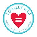 Equally Wed Logo 2.png #equallywedweddingplanner #LGBTQ+ #LGBTQ+weddingplanner #gayweddingplanner