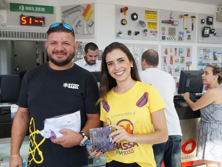 Amarelinho da Massa FM na Corrêa