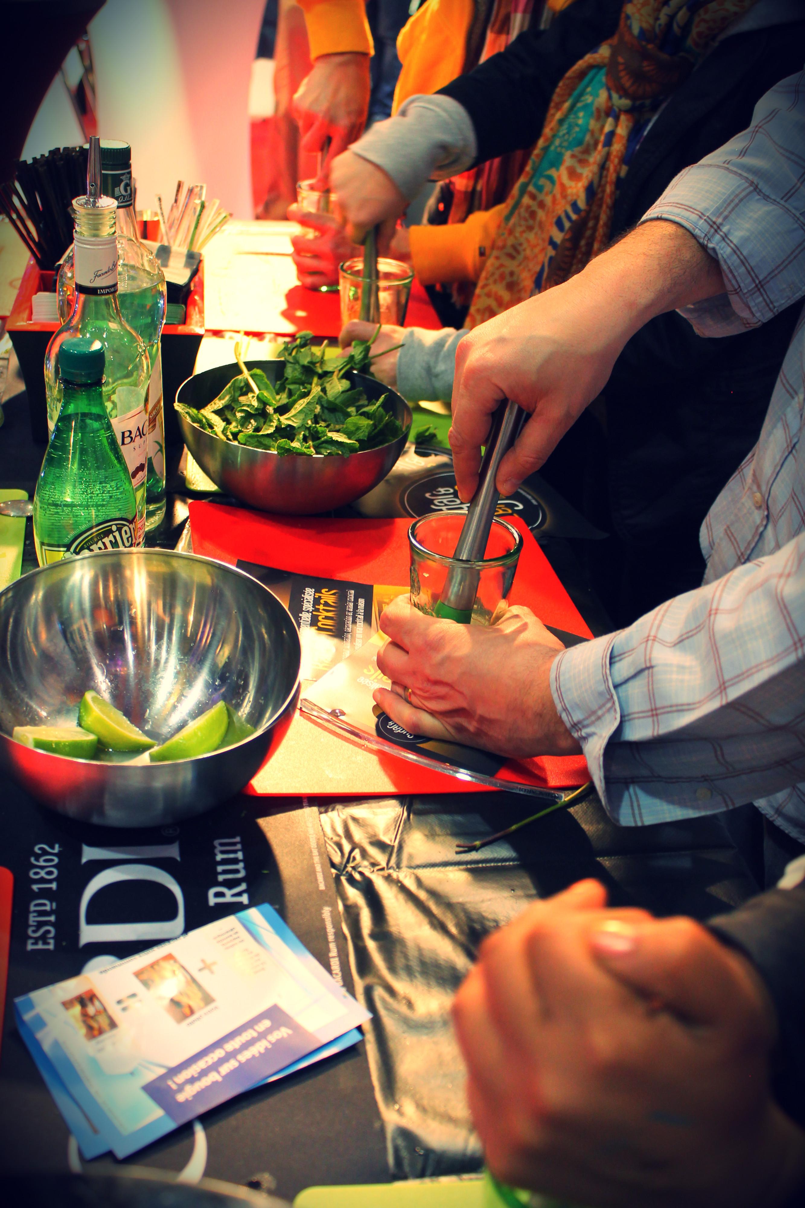 foire commerciale lille atelier cocktail