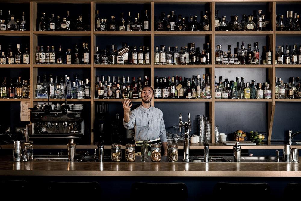 bar à cocktails Louise Cognac