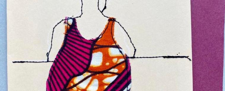 Kaarten van textiel
