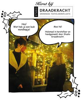 Kerstsfeer en kerstactie bij Studio Draadkracht