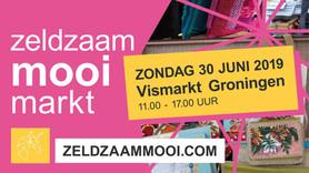 Studio Draadkracht bij Zeldzaam Mooi Markt 30 juni in Groningen