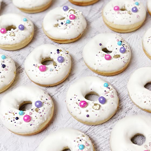 Bubbles Party Donuts