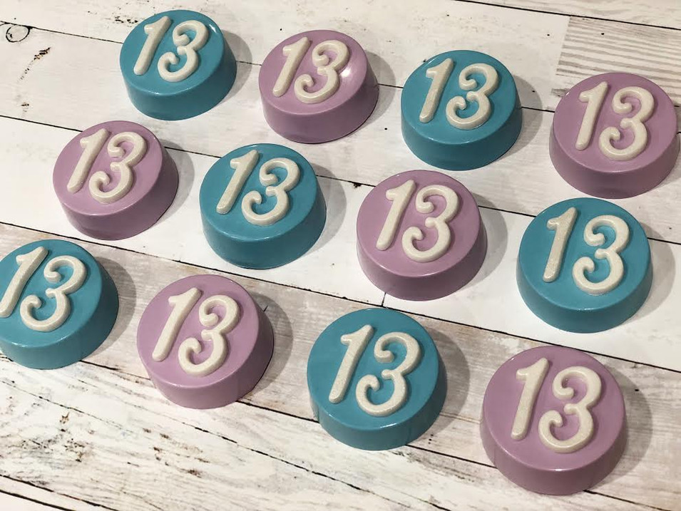 13th birthday favors