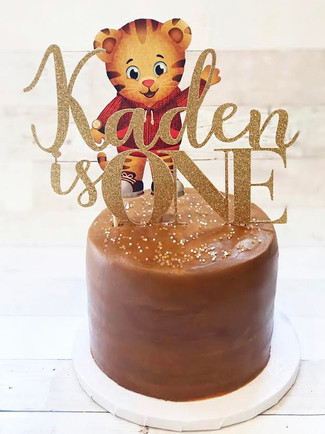 Daniel Tiger 1st Birthday