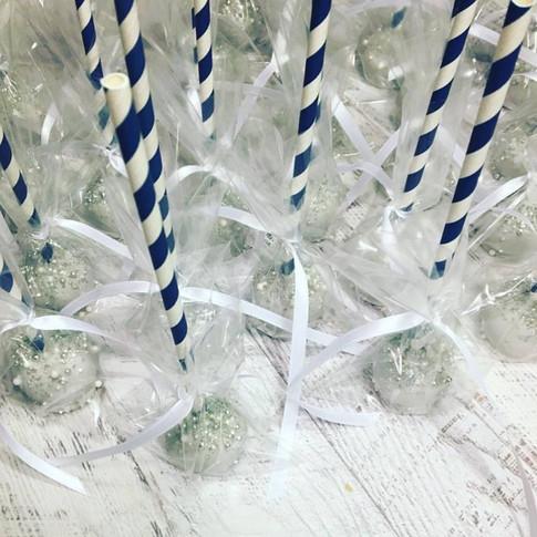 Navy Blue / White Birthday