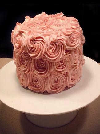 Rosette Smash Cake