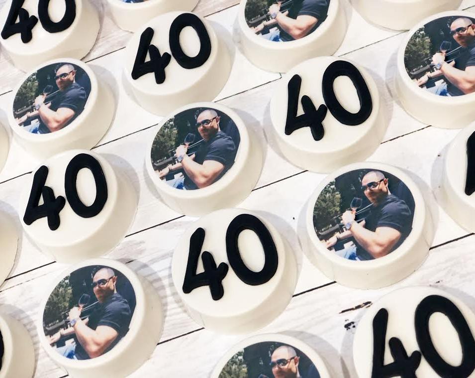 40th Birthday favors