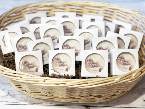 Business logo favors