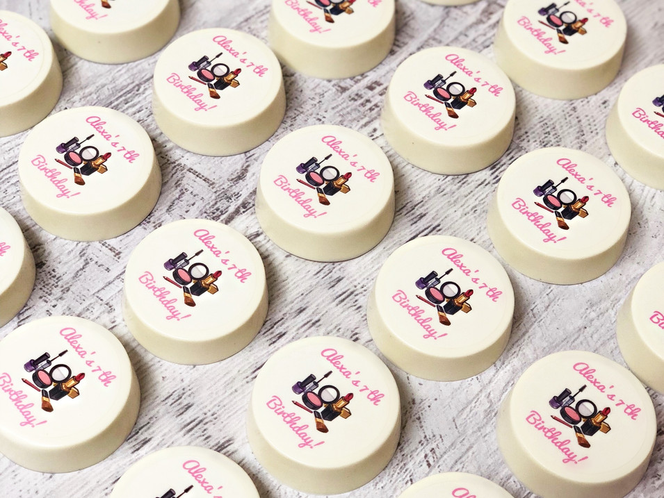 Spa/Makeup truck Birthday Favors