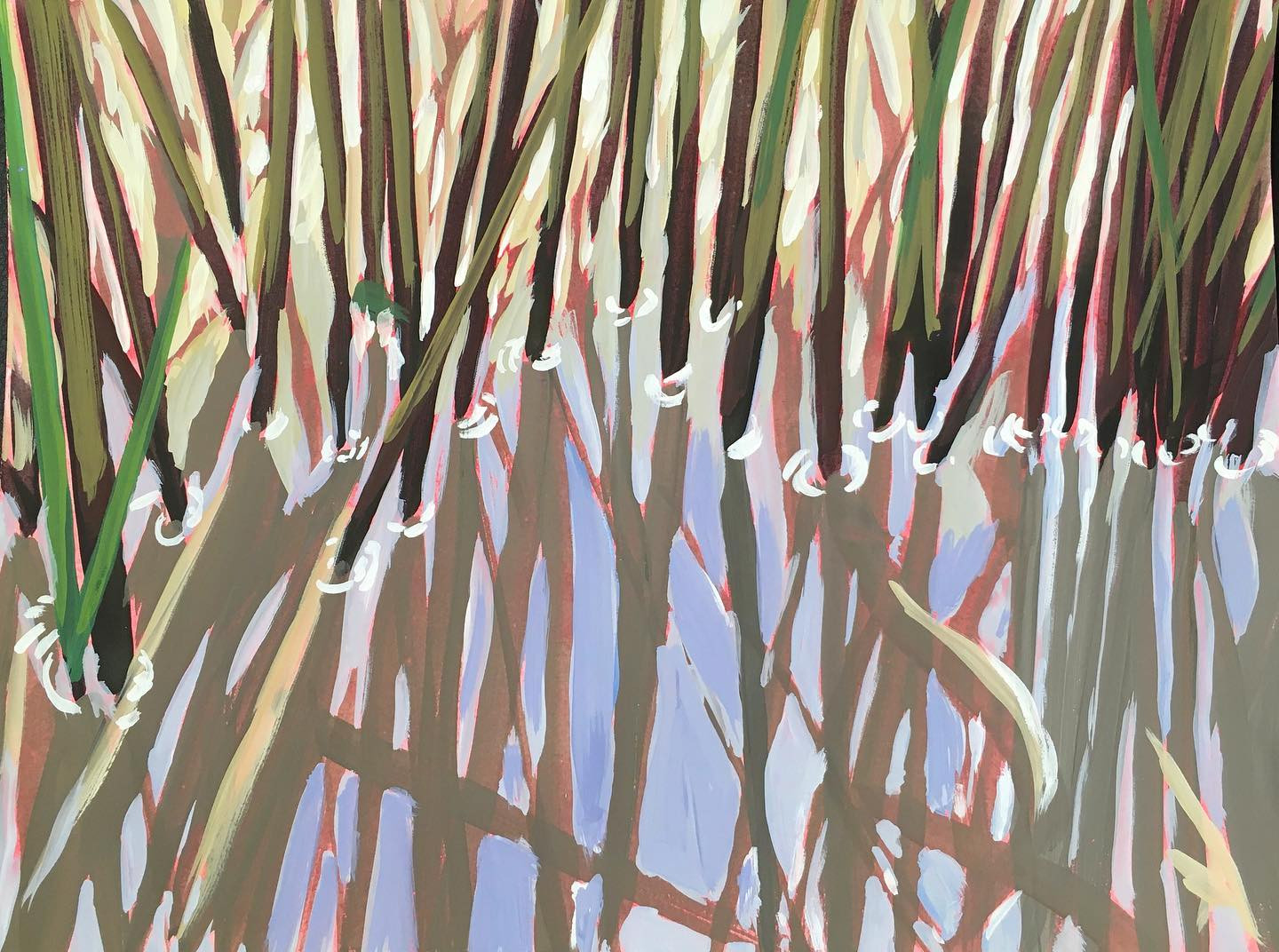 """Among the Reeds"""